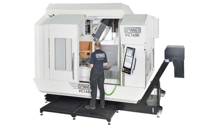Yeni tasarım VC1650-5A büyük 5 eksenli işleme merkezimiz, SK40 / HSK63 veya SK50 / HSK100 iş mili seçenekleri ile 138 takım magazin, SpinnerTouch panel ile dinamik, ergonomik ve kompakt yapısı sayesinde kendi sınıfında rakipsiz!